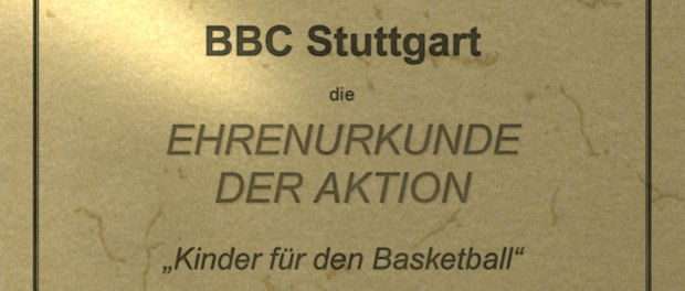 BBC Ehrenurkunde 2015